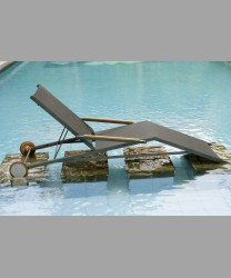 Bali Lounger Stainless Steel - Batyline