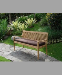 Rivoli Arm Bench With Cushion