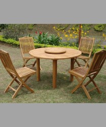 Parisian Round Dining Table & Remy Chairs