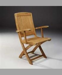 Lowry Folding Arm Chair