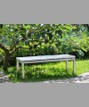 Sonoma Bench 120 cm With Wicker