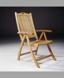 Reclining Chair Vertical Slats