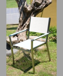 Sonoma Stacking Arm Chair 2013 With Sling