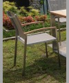 Sonoma Stacking Arm Chair 2014 With Sling