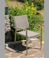 Sonoma Stacking Arm Chair 2014 With Wicker