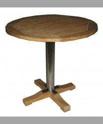 Parisian Round Table 80 cm With SS Leg