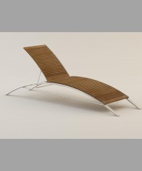 Milano Lounger 2014 With Teak Slats