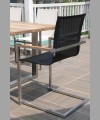 MILANO SWINGER STACKING ARM CHAIR