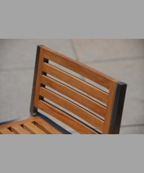 Sonoma Bar Chair Teak Slat