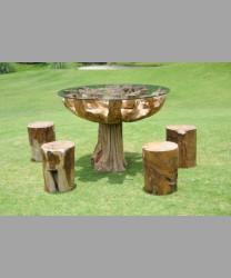 Unique Round Table Set
