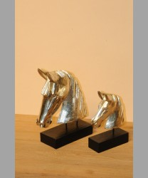 Copper Carved Horses