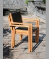 Sonoma Stacking Arm Chair With Wicker