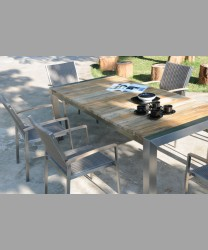 Sonoma Dining Table 2014 With Recycled Teak