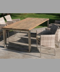 Sonoma Table Indoor With Recycled Teak