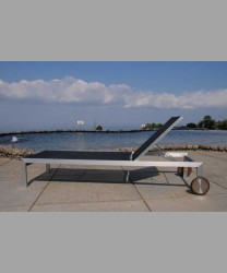 Sonoma Lounger Stainless Steel Batyline